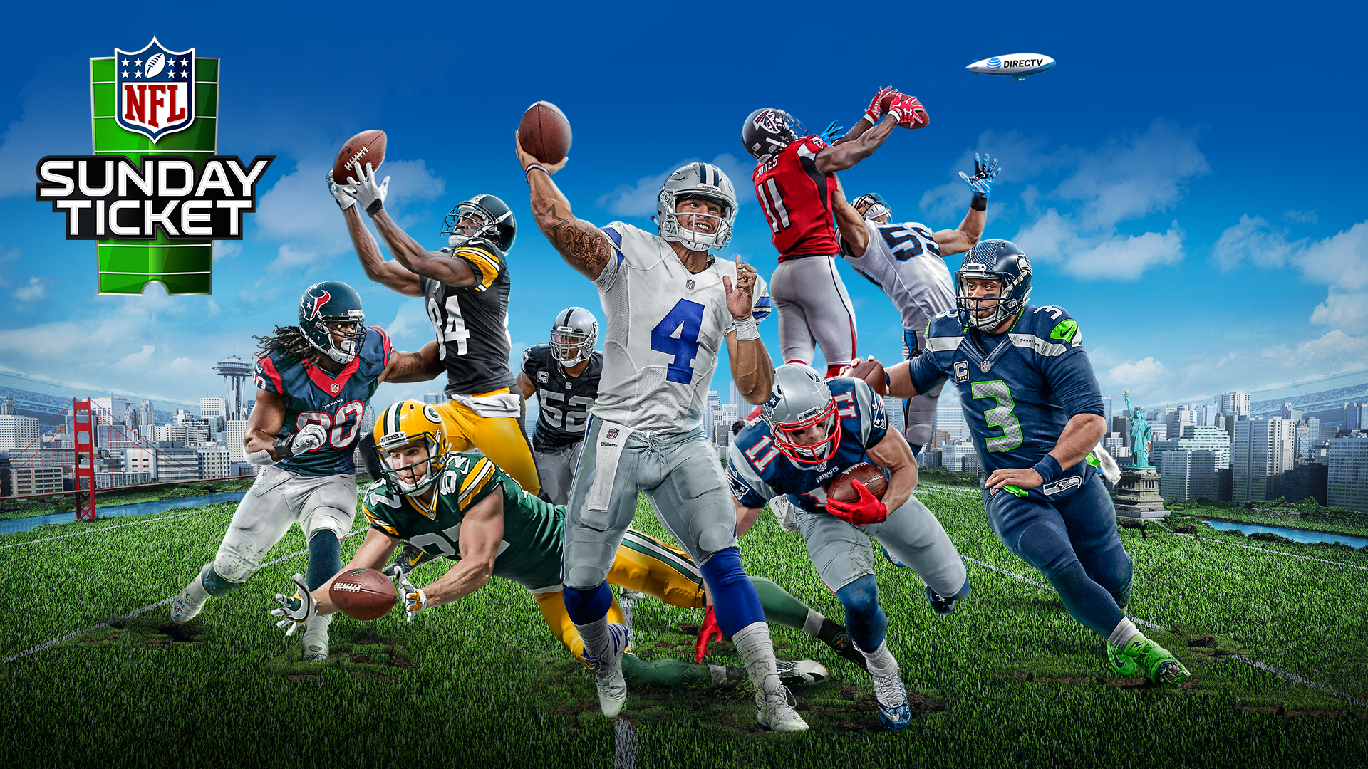 Cant get DIRECTV Stream NFL SUNDAY TICKET online without a DIRECTV satellite TV account Now available in more cities and on more devices